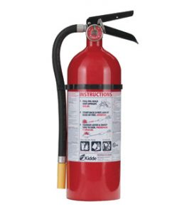 Kidde Pro 340 Consumer Fire Extinguisher - ABC Class, 5-Pound