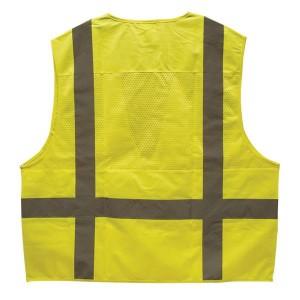 Lime Safety Vest for Surveyors ANSI 107 Class 2 TruForce