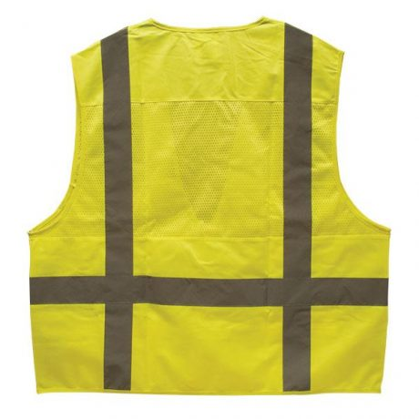 Lime Safety Vest for Surveyors ANSI 107 Class 2 TruForce