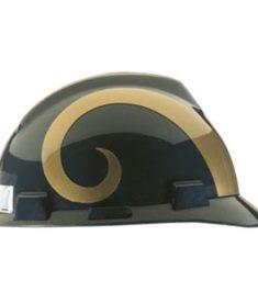 Los Angeles Rams Hard Hat NFL Construction Helmet