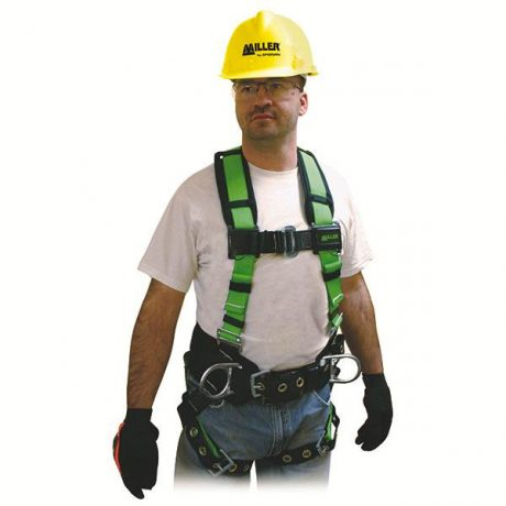 Miller Contractor Construction Worker Safety Harness
