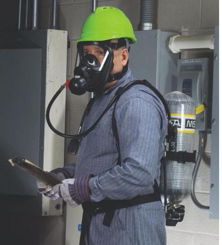 MSA Airhawk II Air Mask Respiratory Protection