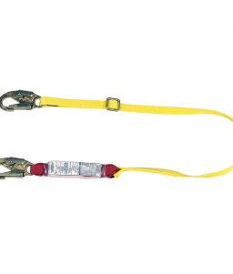 MSA Diamond Sure-Stop 6-Foot Yellow Shock Absorbing Lanyard