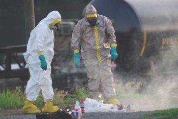 MSA Millenium CBRN Gas Mask for Hazardous Chemicals
