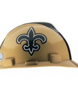 New Orleans Saints Hard Hat NFL Construction Safety Helmet