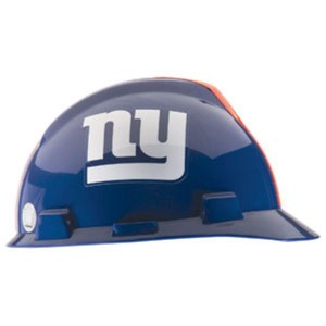 New York Giants Hard Hat NFL Construction Safety Helmet