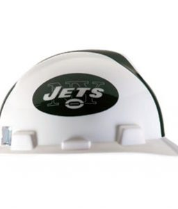 New York Jets Hard Hat NFL Construction Safety Helmet