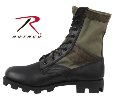 Olive Drab Jungle Boots - Regular Fit