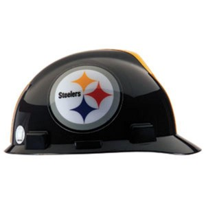 Pittsburgh Steelers Hard Hat NFL Construction Safety Helmet
