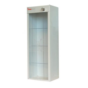 Plastic Grid-Scored Fire Extinguisher Cabinet Cover