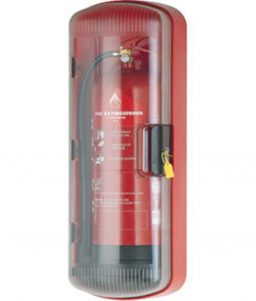 Polycarbonate ABS Plastic Fire Extinguisher Cabinet