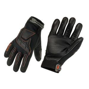 Pro Flex Anti-Vibration Jackhammer Work Gloves - Black