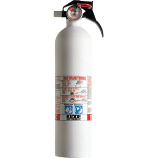 Kidde Auto/Mariner Extinguisher 2 75-Pound BC-Class with Plastic Strap  Bracket