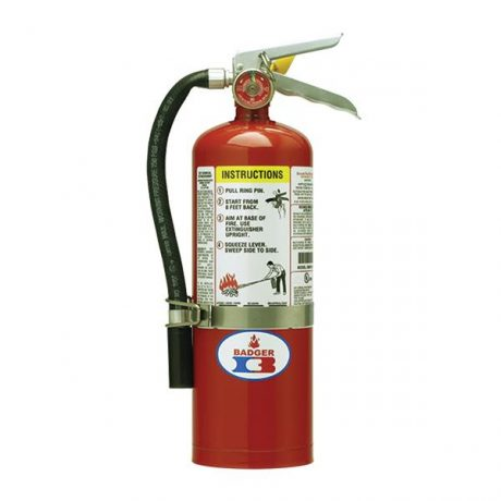 Portable Dry Chemical Fire Extinguisher