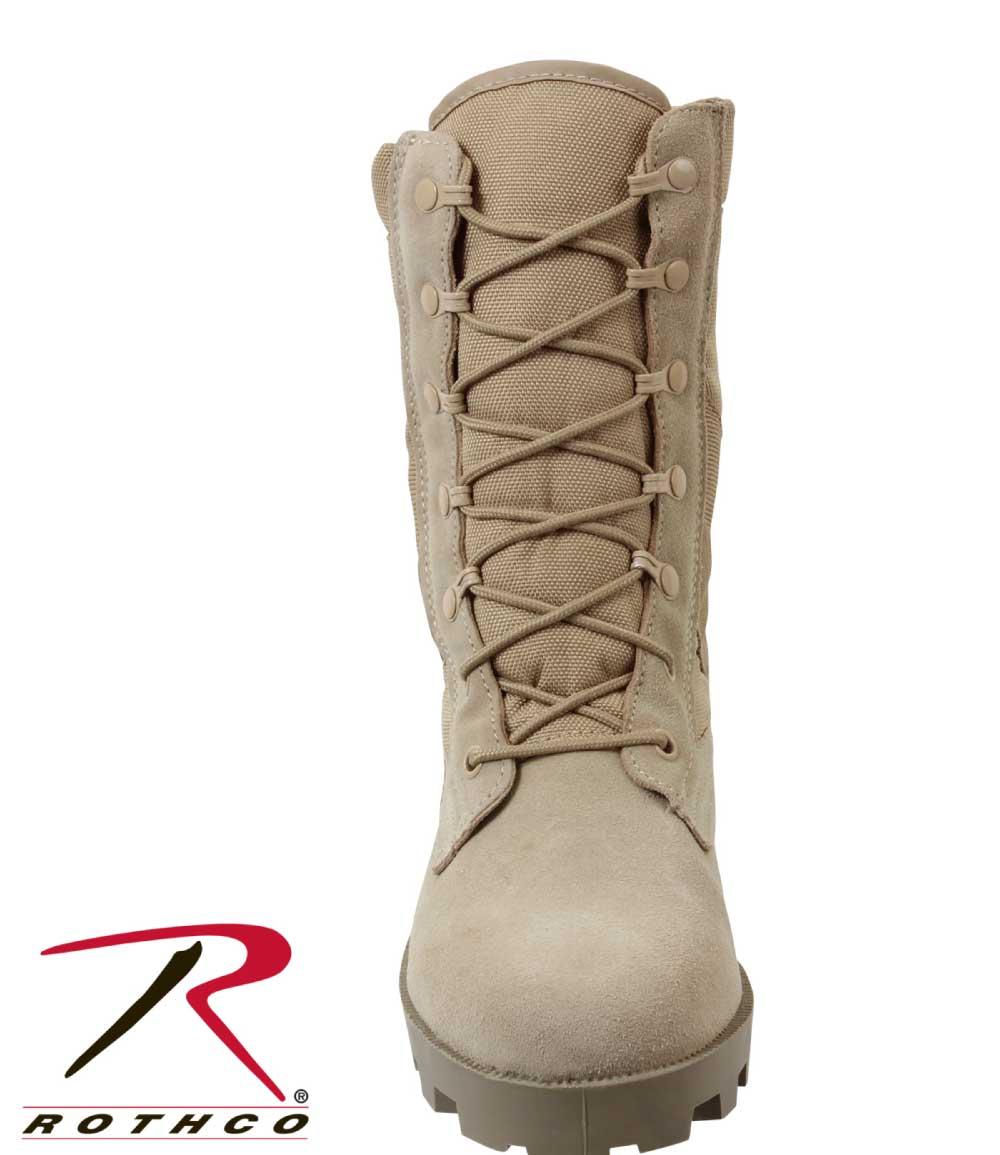 Regular Width Jungle Boots GI Speedlace Desert Tan 08cea45664f