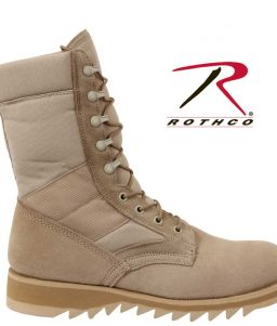 Rothco 5058 Ripple Sole Desert Tan Jungle Boots