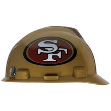 San Francisco 49ers Hard Hat NFL Construction Helmet