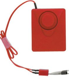 Self Adhesive Red Fire Extinguisher Cabinet Alarm