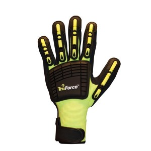 Impact Reducing Dorsal Protection Work Gloves