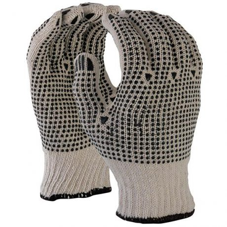 TruForce PVC Dotted Knitted Work Gloves