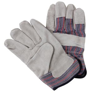 TruForce Split Leather Palm Work Gloves