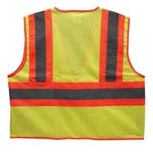 Two-Toned Hi-Viz Safety Vest