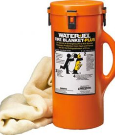 Water-Jel Fire Blanket Plus Storage Canister