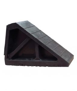 Wedge Shaped Tire Wheel Chock Large Vehicles