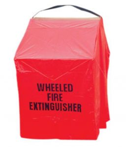 150 Pound Wheeled Fire Extinguisher Cover