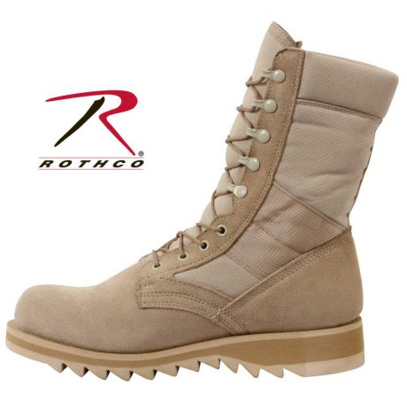 Wide Fit Ripple Sole Jungle Boots Rothco 5058